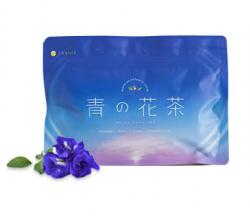 バタ青の花茶