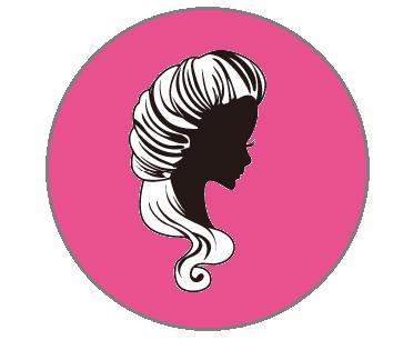 女美健スタッフアイコン黒ピンク左